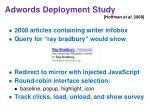 adwords deployment study