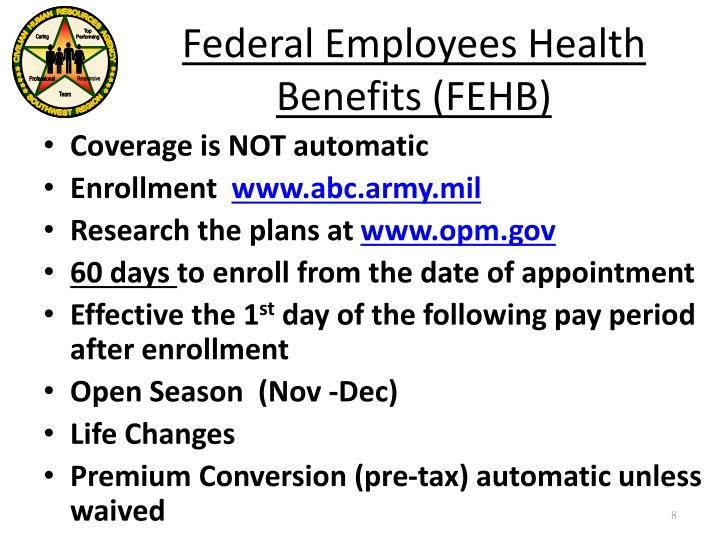 Federal Employees HealthBenefits FEHB