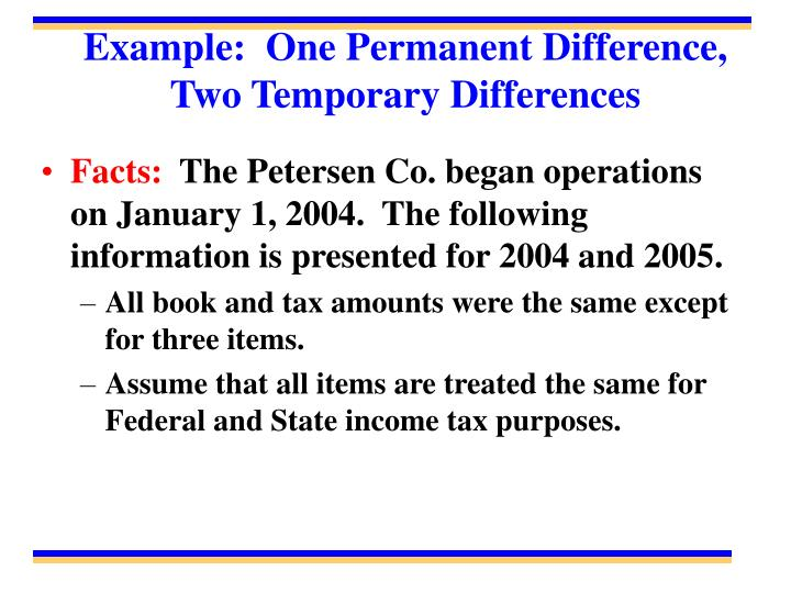 temporary differences Liabilities arising from temporary differences associated with investments in subsidiaries, branches, and associates, and interests in joint arrangements, but only to the extent that the entity is able to control the timing of the reversal of the differences and it is probable that the reversal will not occur in the foreseeable future.
