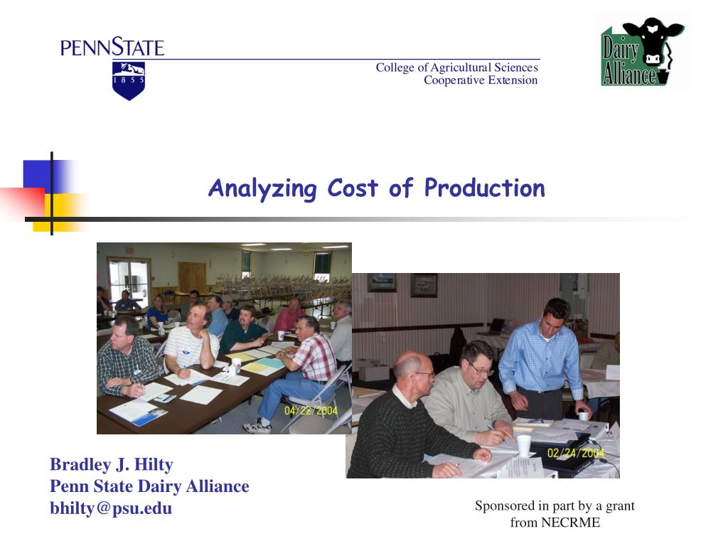 Analyzing Cost of Production