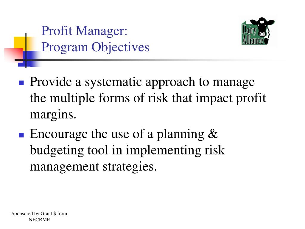Profit Manager: