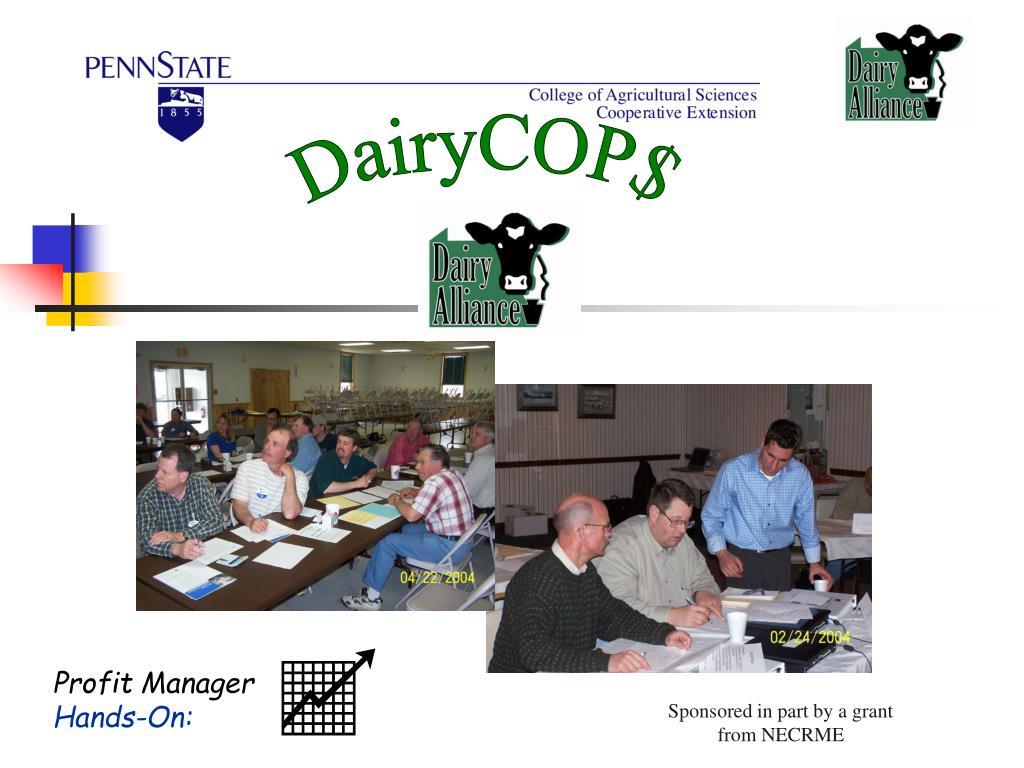 DairyCOP$