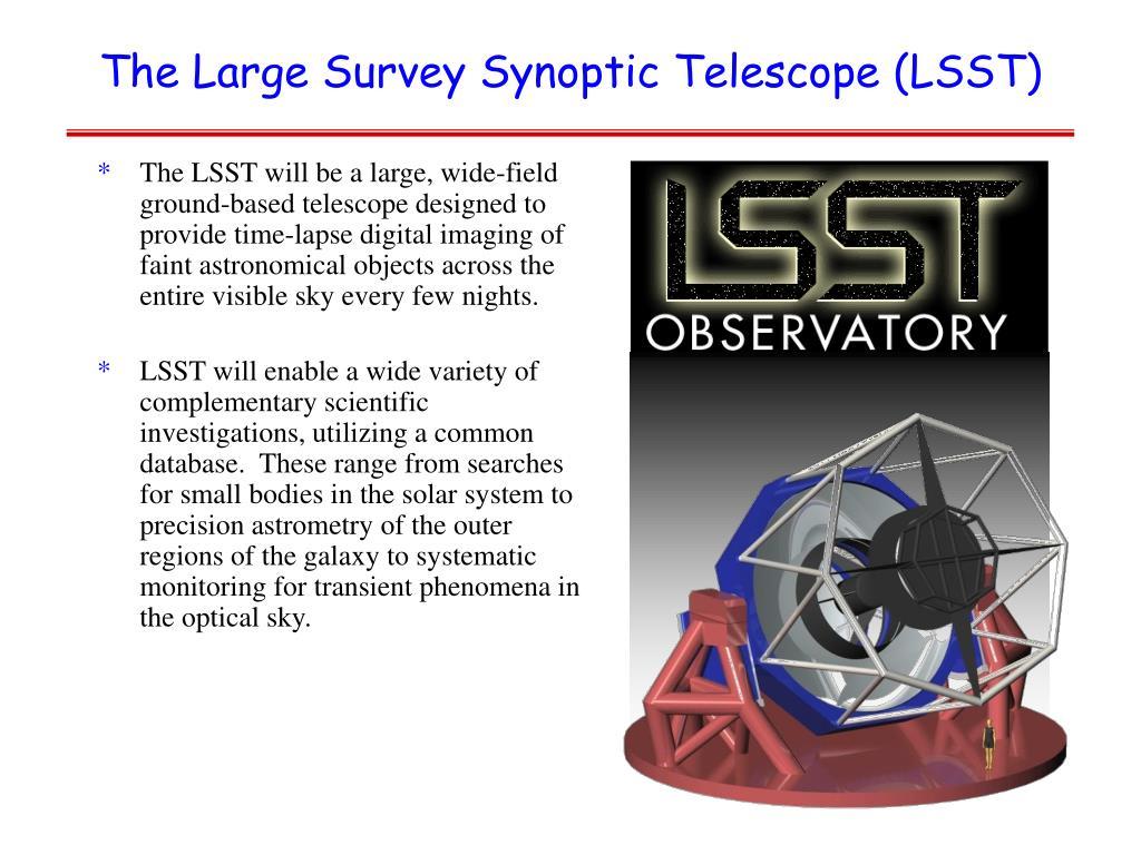 The Large Survey Synoptic Telescope (LSST)
