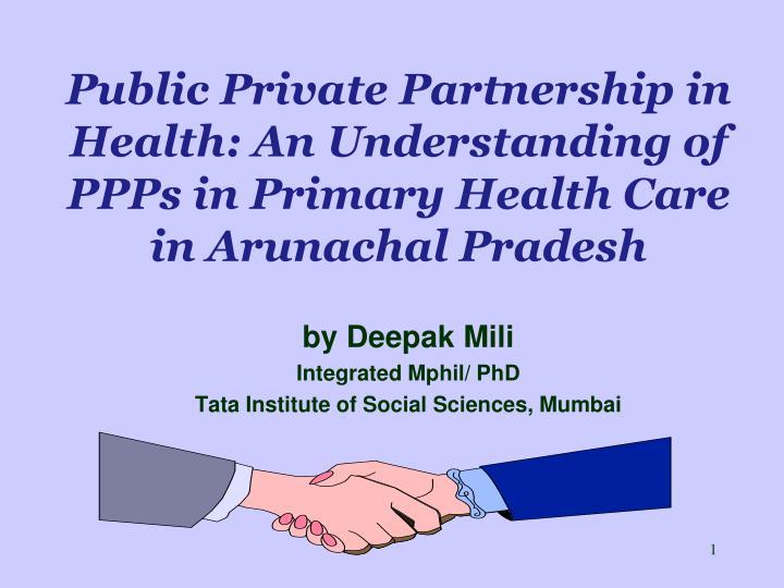 public private partner ship in social