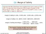 q6 margin of safety27