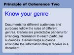principle of coherence two