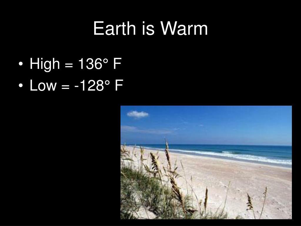 Earth is Warm