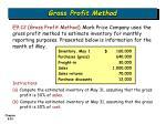 gross profit method25