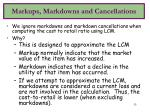 markups markdowns and cancellations33