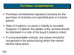 purchase commitments17