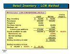 retail inventory lcm method