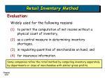 retail inventory method36