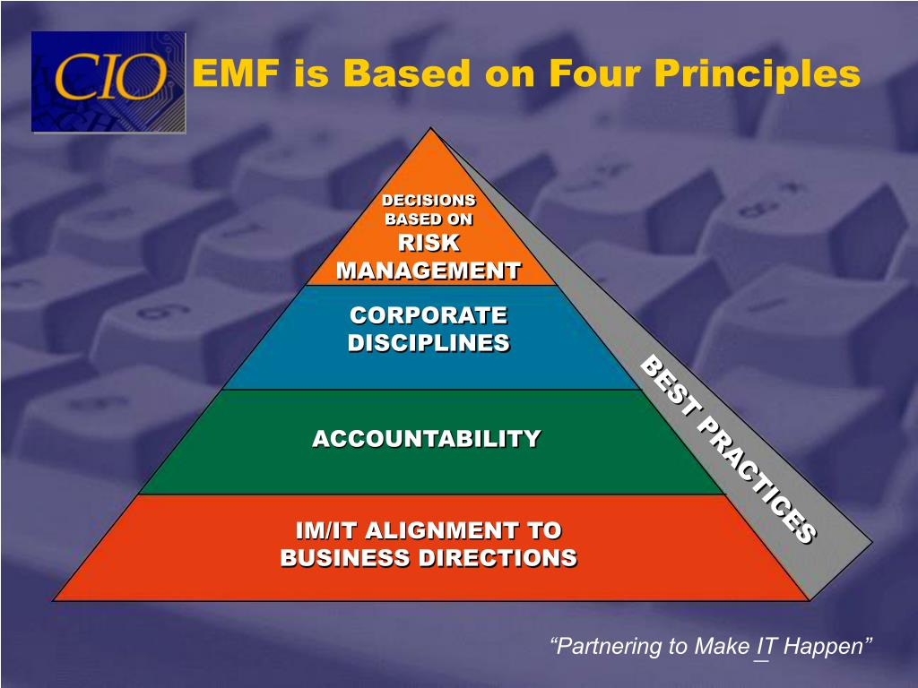 EMF is Based on Four Principles