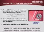 thermalert features benefits