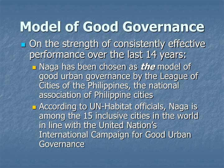 Model of Good Governance