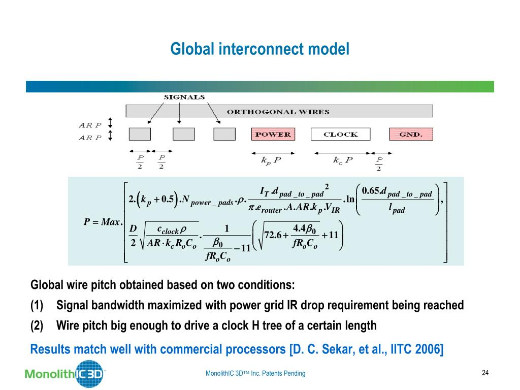 Global interconnect model