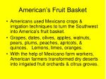 american s fruit basket