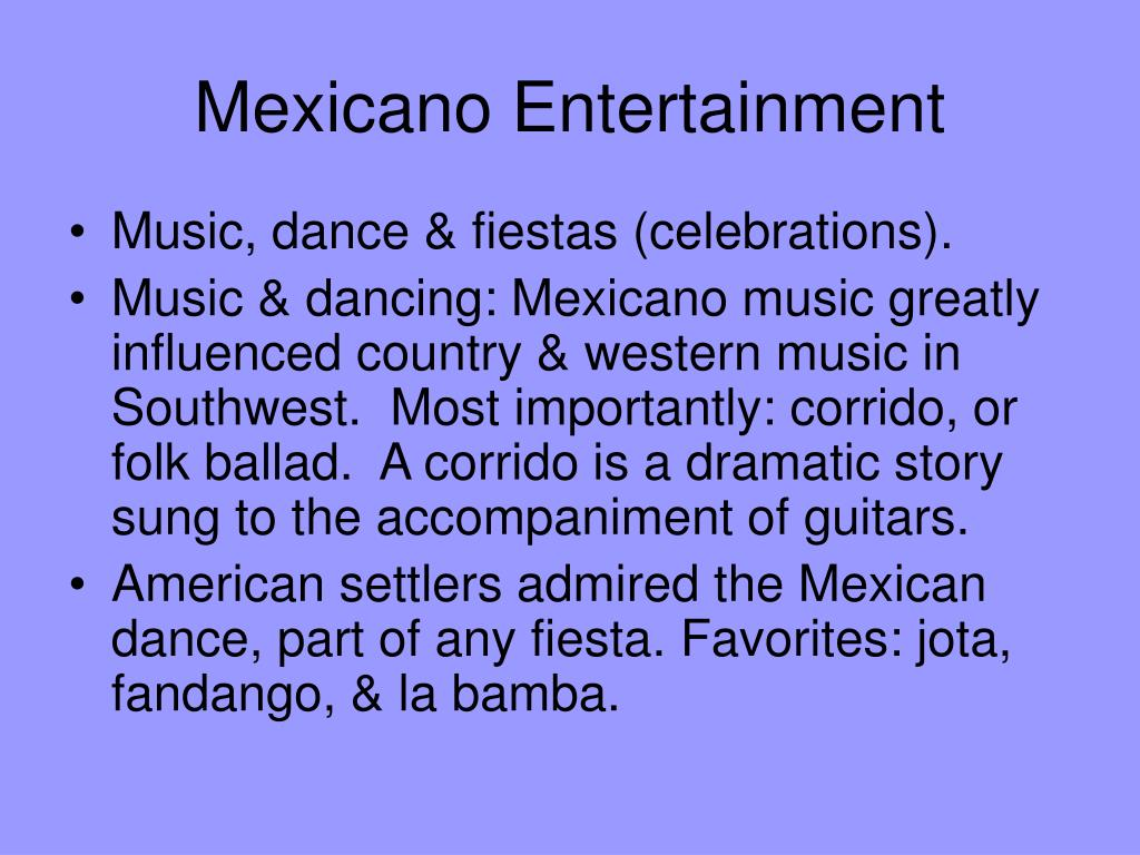 Mexicano Entertainment