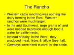 the rancho