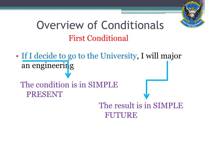 Overview of conditionals3