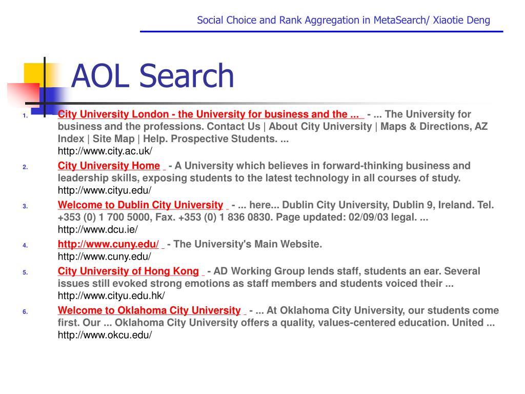AOL Search