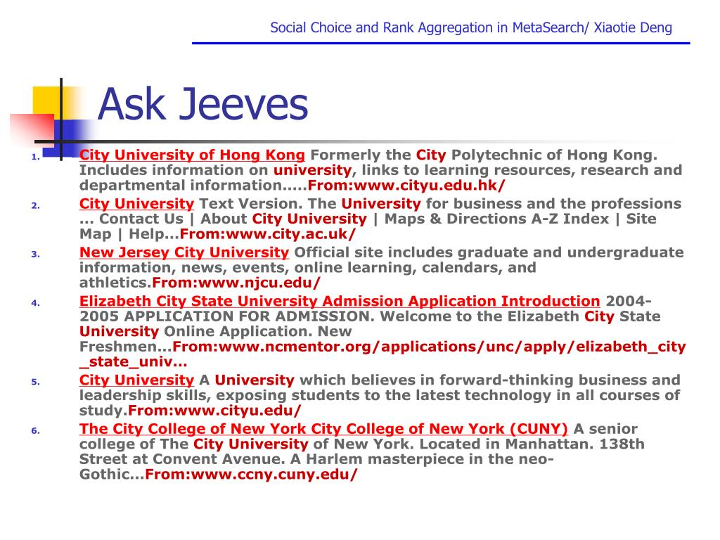 Ask Jeeves