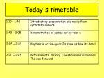 today s timetable3