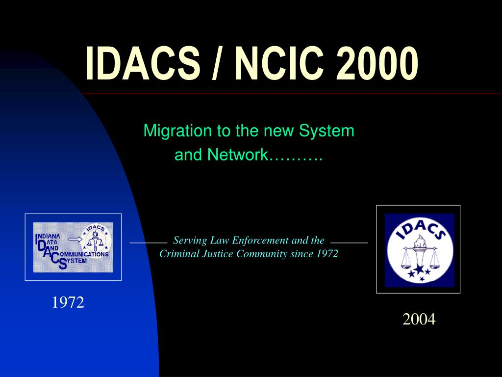 Ppt Idacs Ncic 2000 Powerpoint Presentation Id286271