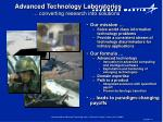 advanced technology laboratories converting research into solutions