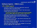 software agents emaa cont