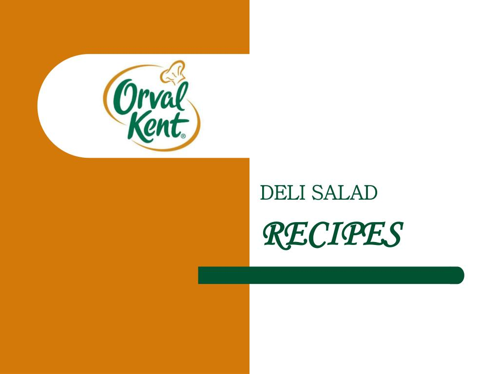 deli salad recipes l.