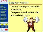 budgetary control5