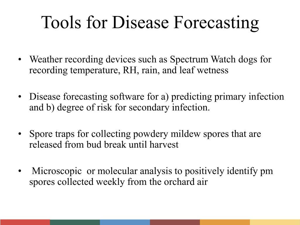 Tools for Disease Forecasting