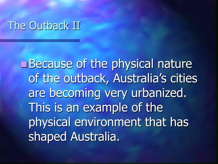 The Outback II