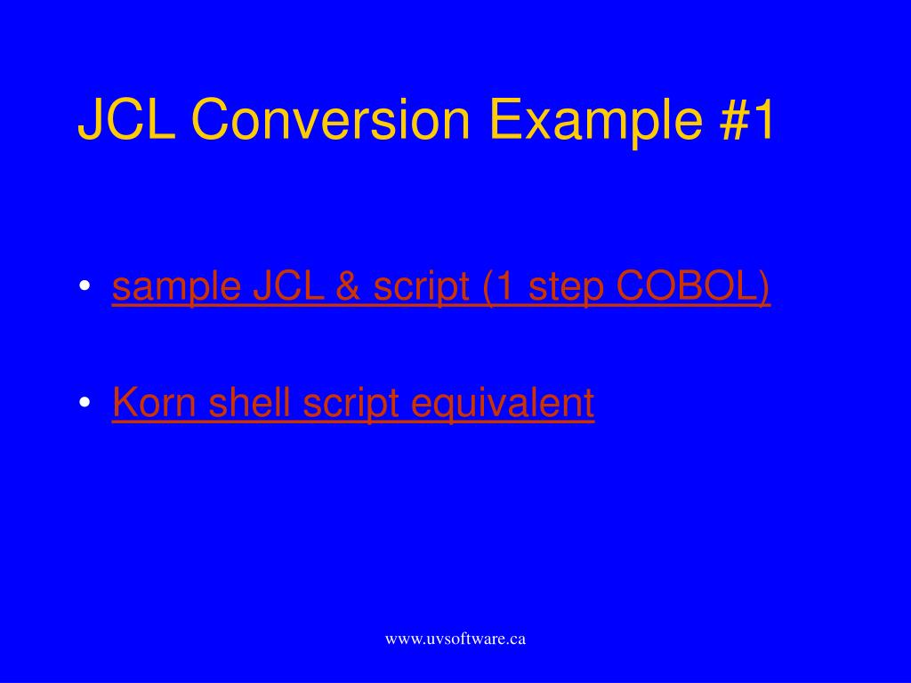 PPT - Mainframe Conversion PowerPoint Presentation - ID:286419