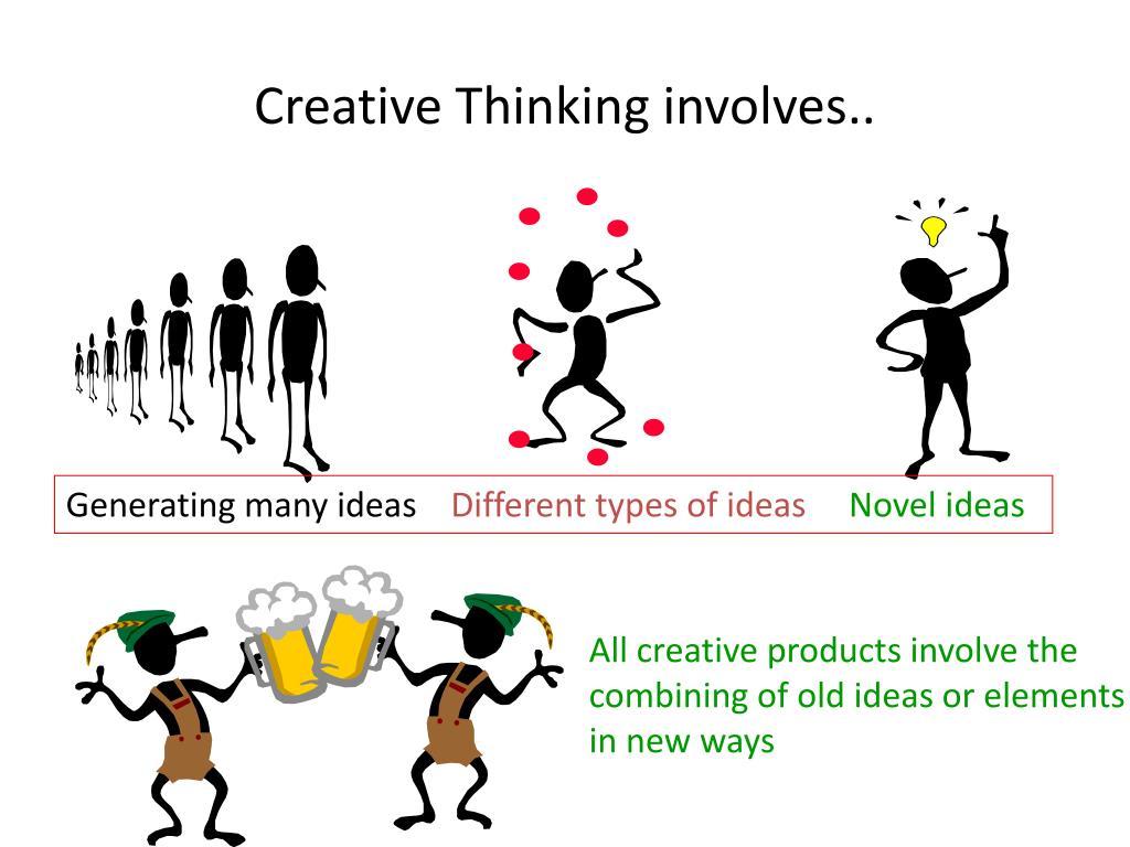 Creative Thinking involves..