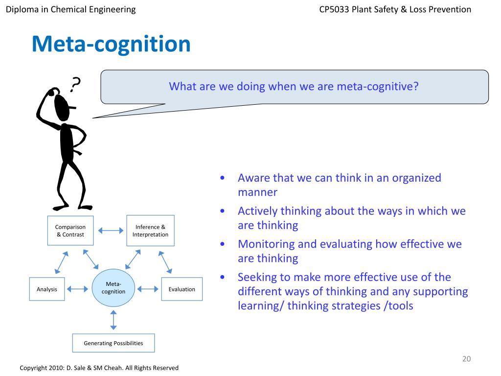 Meta-cognition