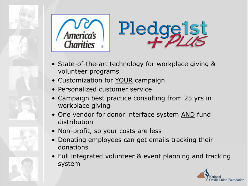 State-of-the-art technology for workplace giving & volunteer programs