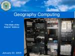geography computing