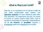qu es stop loss limit