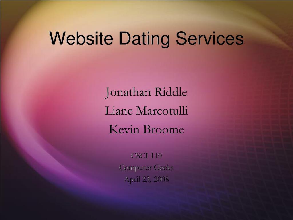 website dating services l.