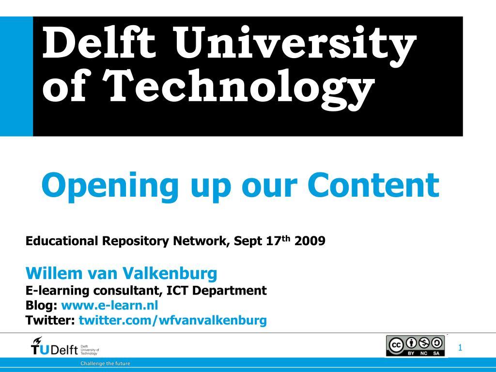 delft university of technology l.