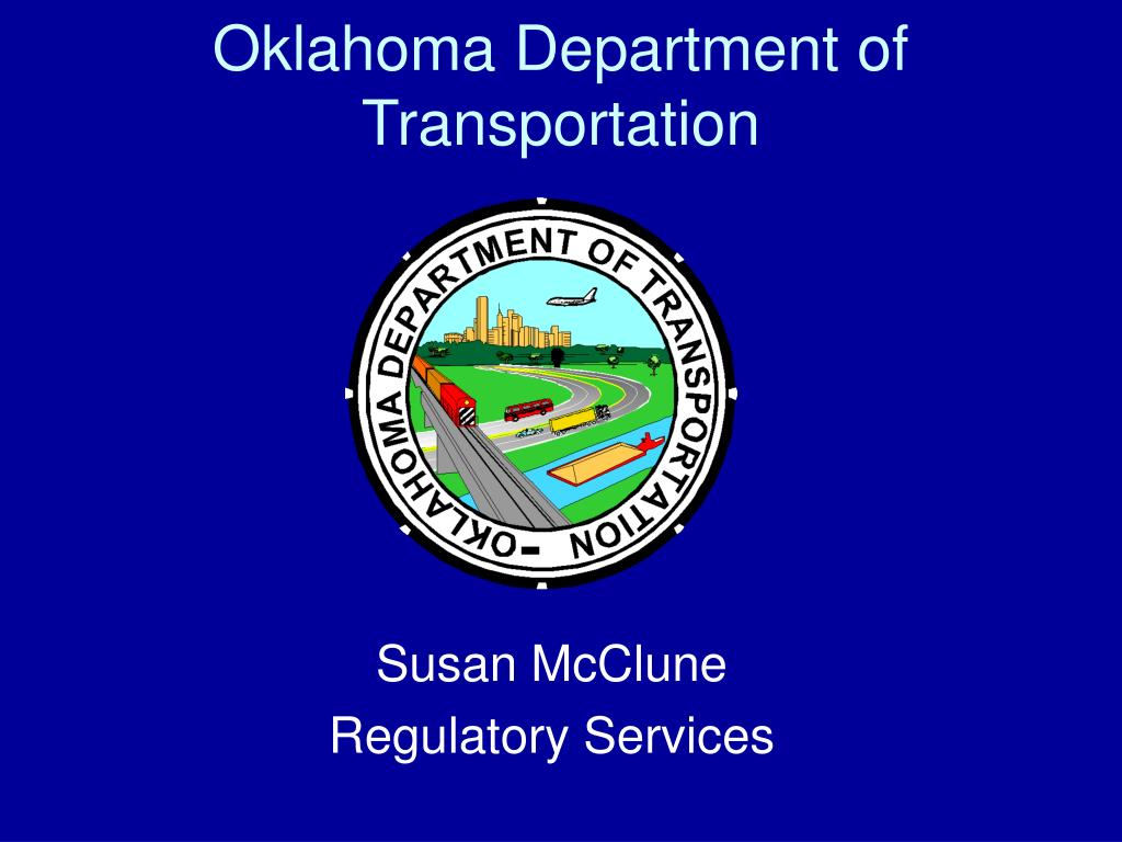 oklahoma department of transportation l.