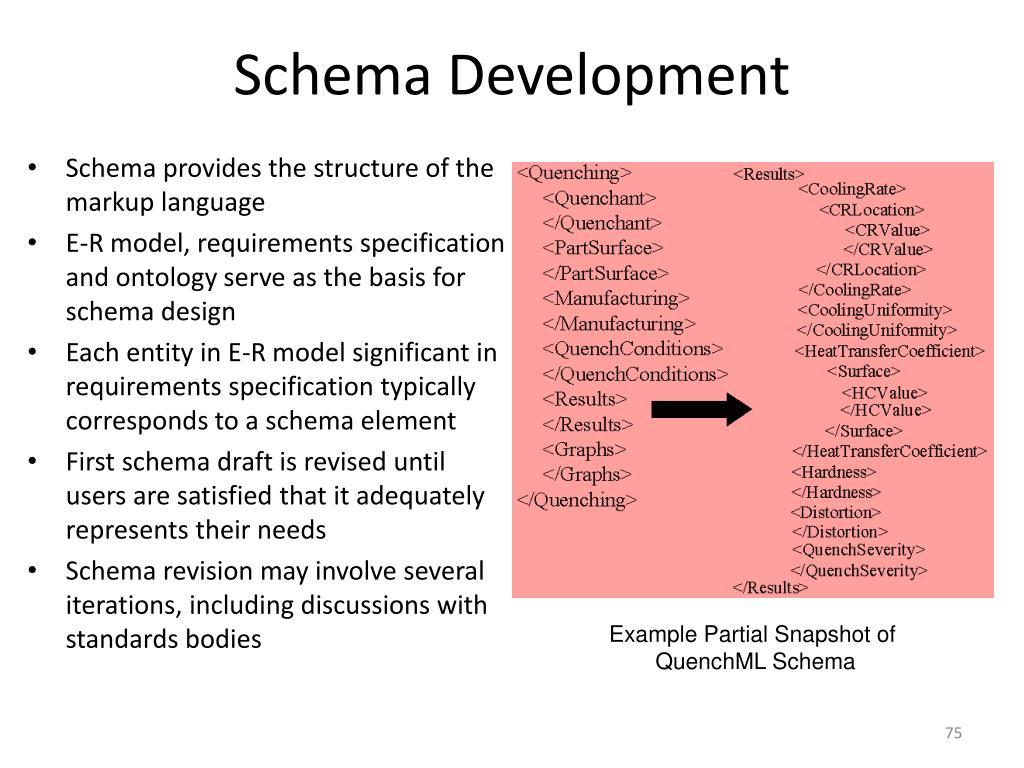 Schema Development
