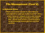 file management cont d36