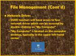 file management cont d37