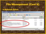 file management cont d38