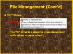 file management cont d40