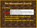 file management cont d45