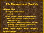 file management cont d48